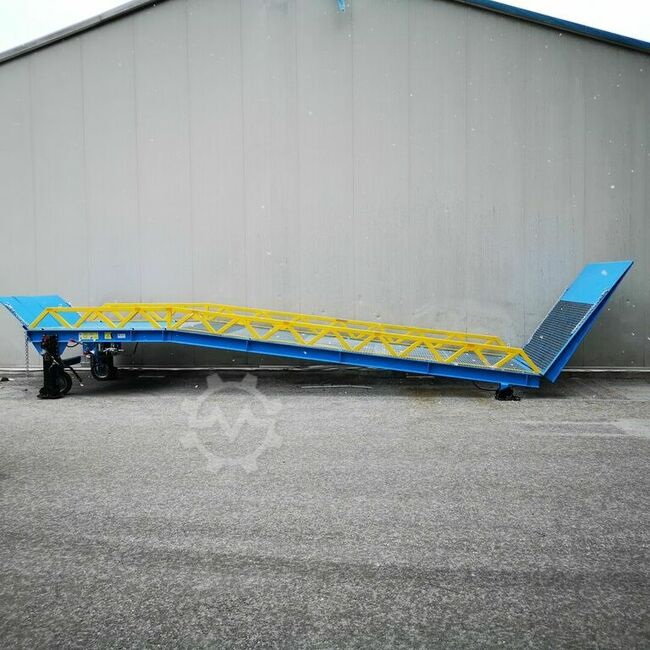 Kum-plast loading ramp - mobile - for containers