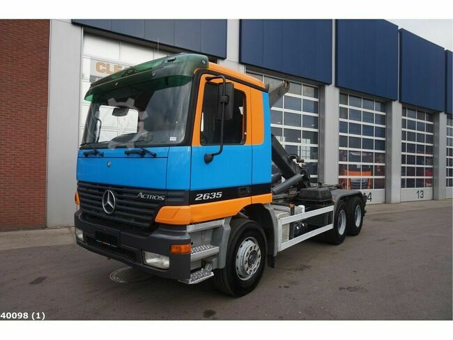 Mercedes-Benz Actros 2635 6x4 Manual Full steel