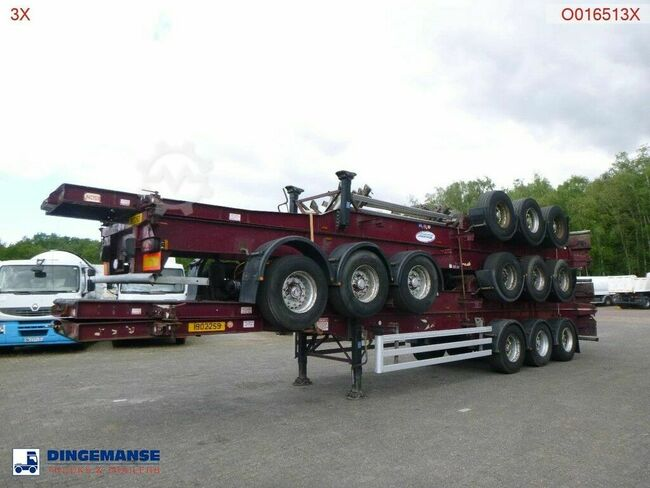 Dennison Stack - 4 x container trailer 40 ft