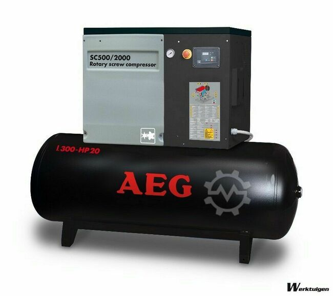 AEG SC500/1500 Screw compressors