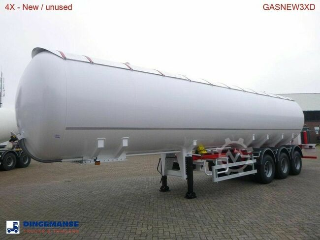 ETTGAS Gas tank steel 57 m3 - dual tyres / NEW/UNUSED