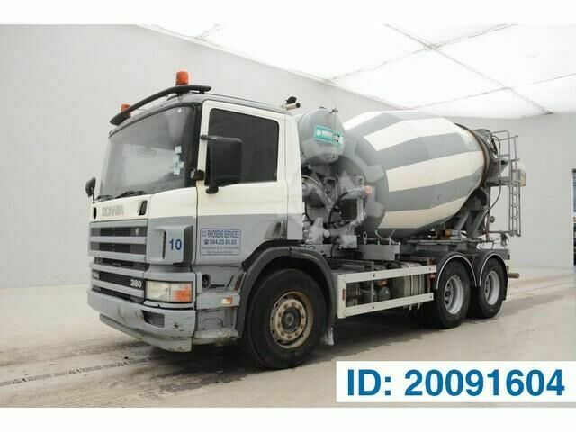 Scania P114.380 6x4 tractor/mixer double use