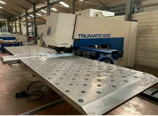 TRUMPF Traumatic 500 rotation