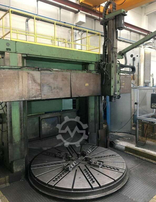 TITAN / UMARO 27CNC 2500mm CNC Double Column Single Ram Vertical Borer. With Fagor 8025T Control