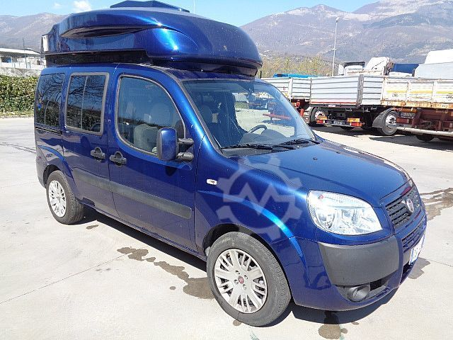 Fiat DOBLO JTD LABORATORIO MOBILE ANTENNA SATELLITARE
