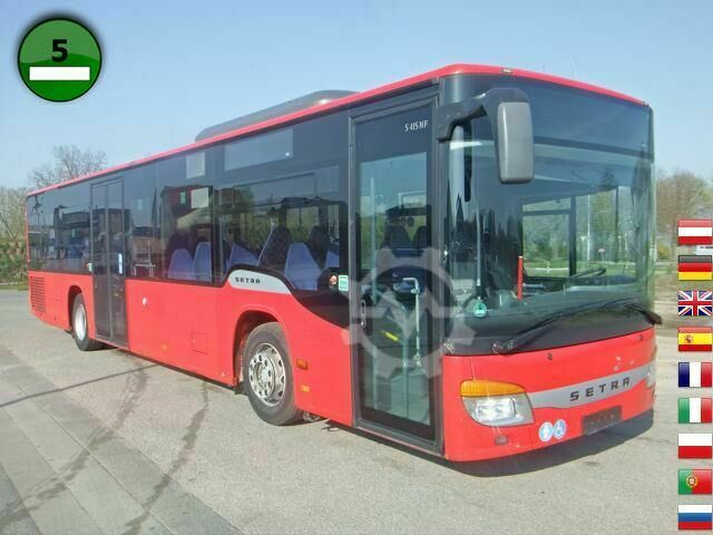 Setra S415 NF EEV1 EURO 5 STANDHEIZUNG