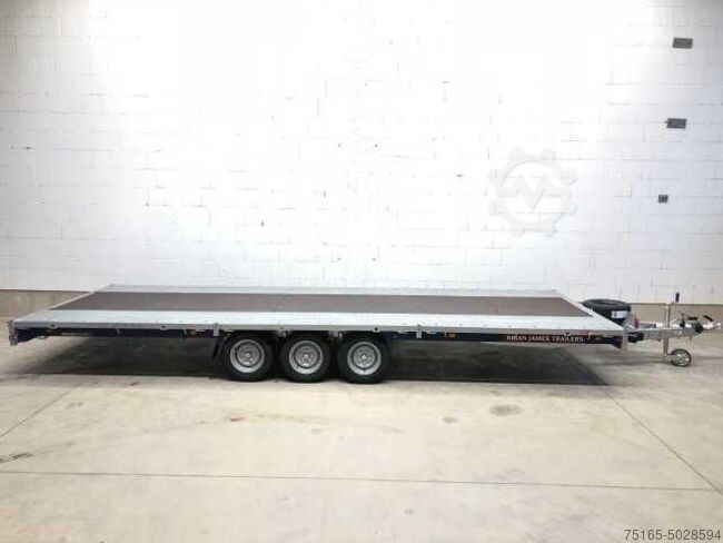 Brian James Trailers Cargo Connect Tridem 12 Zoll Autotransporter