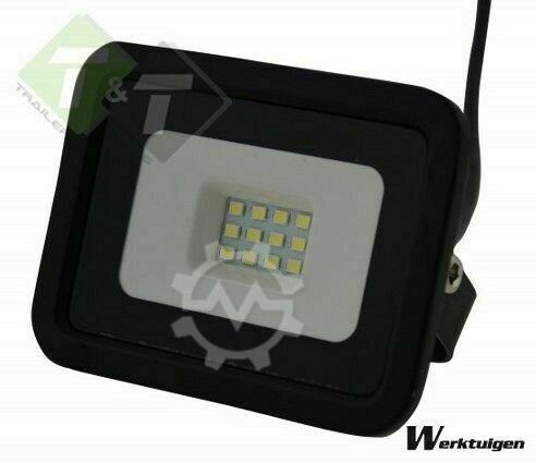 Trailer And Tools Werklamp 10 Watt, Bouwlamp LED, Koud