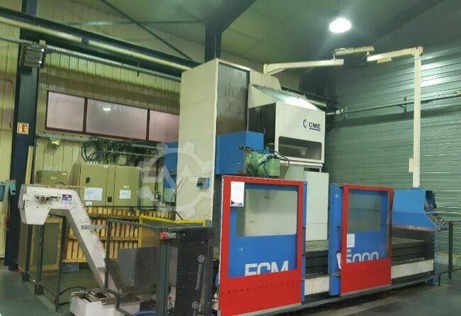 CME FCM-5000 5500mm x 950mm CNC Bed Miller