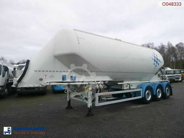 Feldbinder Powder tank alu 36 m3 / 1 comp