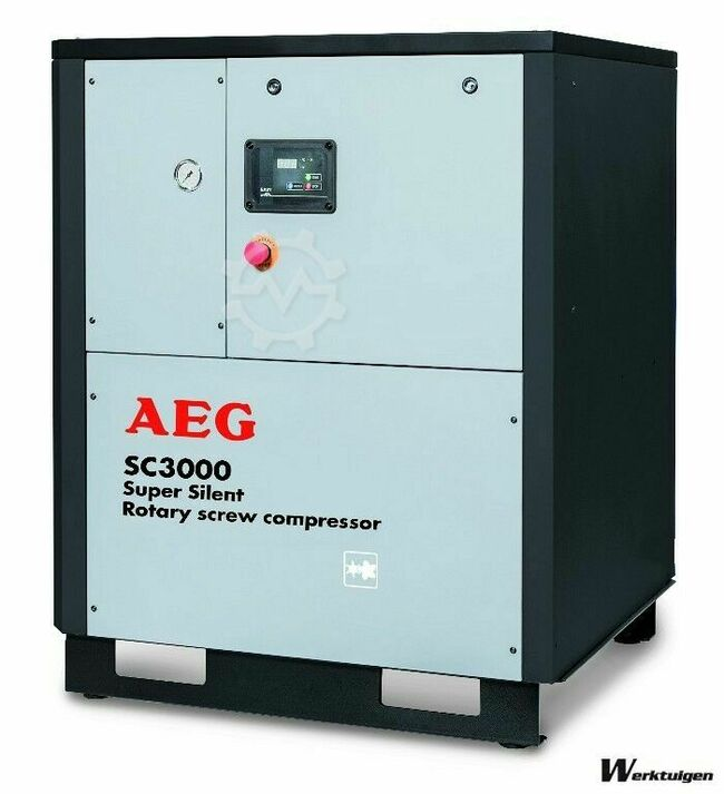 AEG SC3000-SC4000-SC5000 Screw compressors