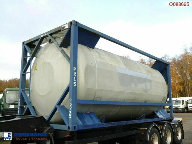 UBH Food (beer) tank container 20 ft / 23.6 m3 / 1 com