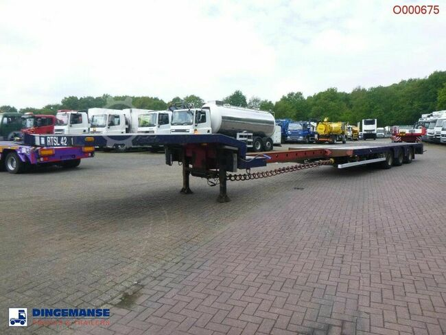 Nooteboom 3-axle semi-lowbed trailer OSDS-48-03V / ext. 15 m