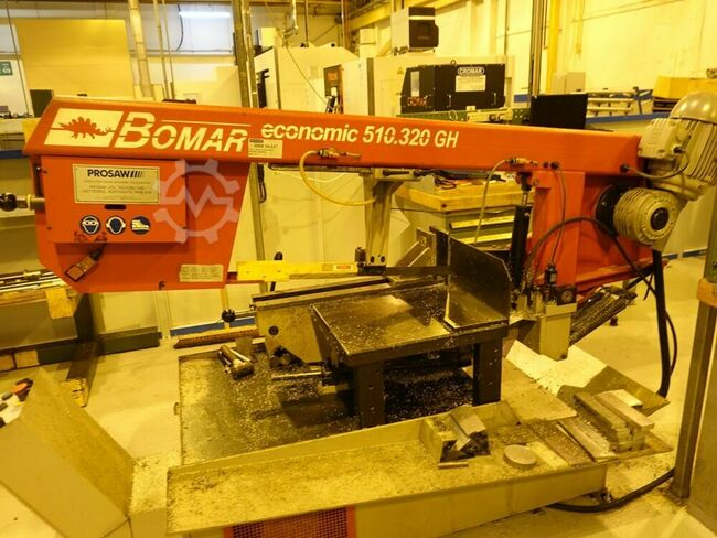 BOMAR Economic 510/320 GH Horizontal Bandsaw