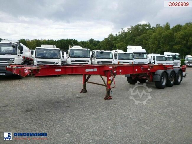 Montracon 3-axle container trailer 20-30-40-45 ft
