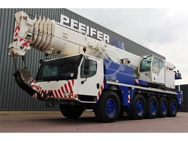 Liebherr LTM1100 5.2 10x6 Drive and 10 Wheel Steering, 100t