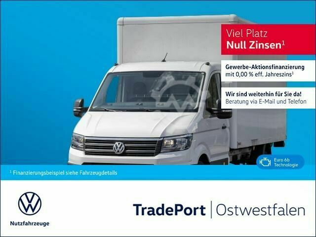 VW Crafter 35 Koffer Lang Ladebordwand