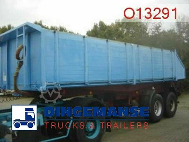 Langendorf Tipper trailer 19 m3 alu 3-way