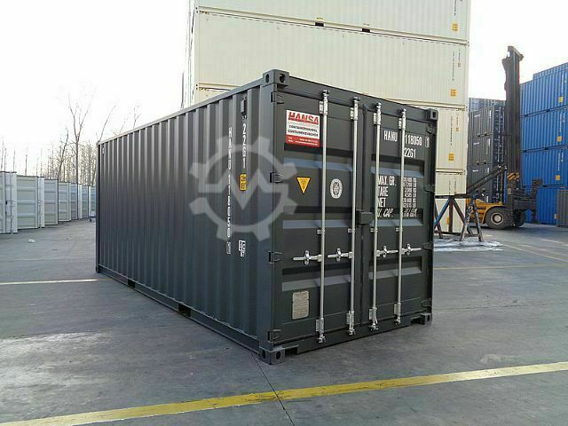 Sonstige/Other 20FT Seecontainer RAL7016 Anthrazitgrau neuwertig