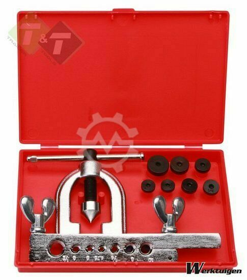 Trailer And Tools Remleiding felsset, dubbele fels, 9 delig, 7 adapt