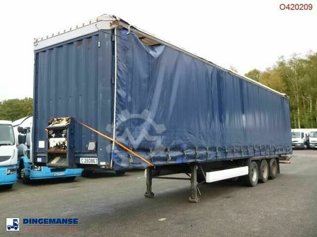 Krone Curtain side trailer double stock 97 m3