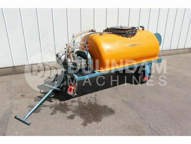 Empas spraying equipment -