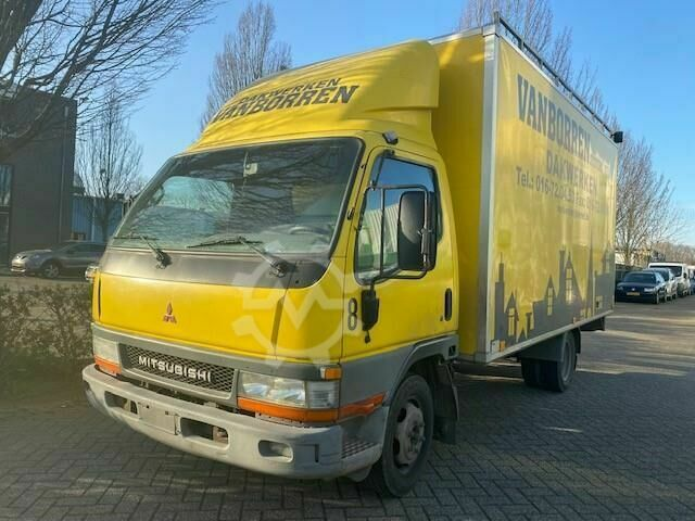 Mitsubishi Canter FB35 3.0 250 City Cab bakwagen