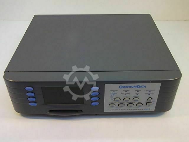Quantumdata 881C, Video Test Instrument
